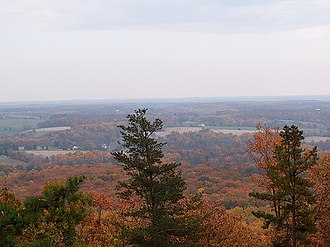 Sugarloaf Mountain (Maryland) - Image: Sugarloaf 1