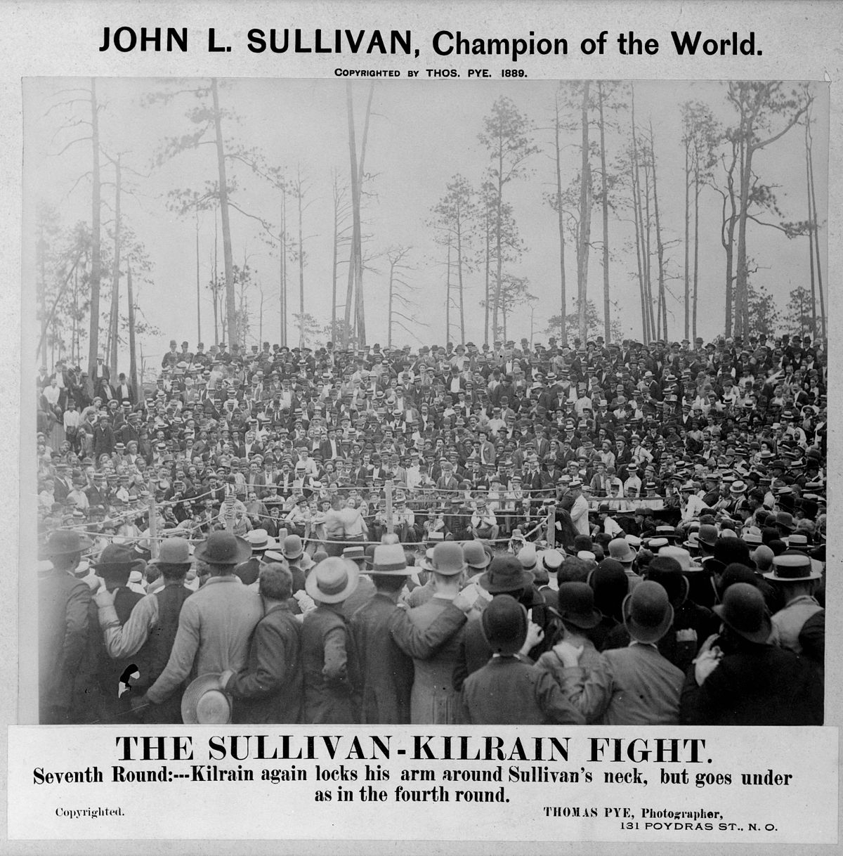 Sullivan Kilrain Fight Wikimedia Commons