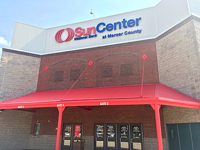 How to get to Sun National Bank Center with public transit - About the place