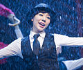 "Sunny in July 2014, performing ""Singin' in the Rain"" musical.jpg"
