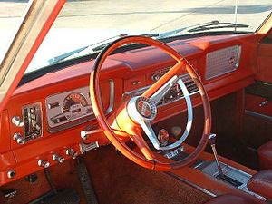 Jeep Wagoneer (SJ) - Super Wagoneer interior