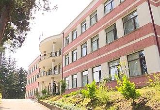 Supreme Council of the Autonomous Republic of Adjara - The building of the Supreme Council in Chakvi