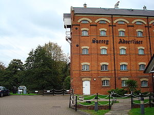 Surrey Advertiser - The Surrey Advertiser offices in Guildford