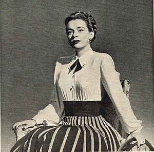 Susan Peters - Peters in The Sign of the Ram (1948), in which she portrayed a paraplegic woman.
