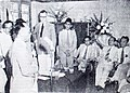 Suwirjo giving a speech Dunia Film 1 Apr 1954 p16.jpg