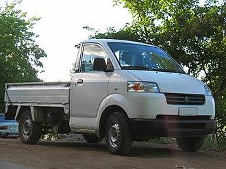 Suzuki IndoMobil Motor - Image: Suzuki APV 1.6 Pick up 2008 (13931153320)