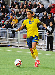 Sweden - Denmark, 8 April 2015 (16901363499).jpg