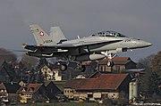 Swiss AF Boeing FA-18D Hornet