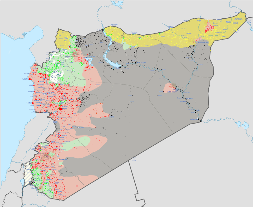 Syrian civil war 04 09 15