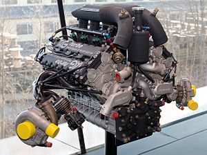 McLaren MP4/2 - The Porsche built TAG TTE PO1 V6 turbo