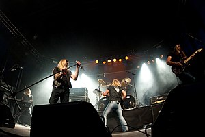 TNT discography - TNT on stage in 2009.