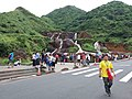 TW 台灣 Taiwan 新北市 New Taipei 瑞芳區 Ruifang District 洞頂路 Road 黃金瀑布 Golden Waterfall August 2019 SSG 22.jpg