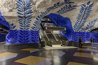 T-Centralen Stockholm Metro station