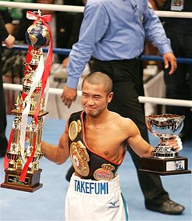 Takefumi Sakata Japanese boxer