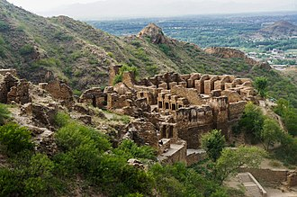 Peshawar - The nearby Takht-i-Bahi monastery was established in 46 CE, and was once a major centre of Buddhist learning.