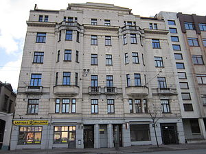 Mikhail Tal - Mikhail Tal lived in this house in Riga