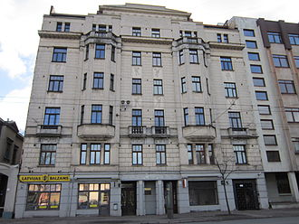 Mikhail Tal - Tal lived in this house in Riga