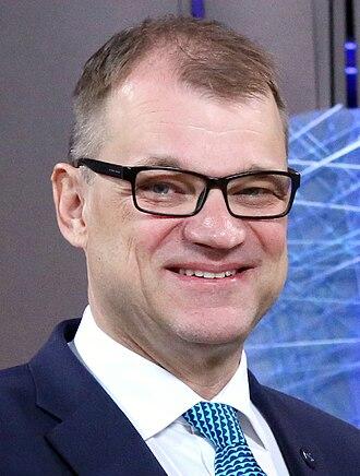 Prime Minister of Finland - Image: Tallinn Digital Summit. Handshake Juha Sipilä (2017)