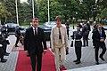 Tallinn Digital Summit. Meeting of Estonian President Kersti Kaljulaid and French President Emmanuel Macron (37344364292).jpg