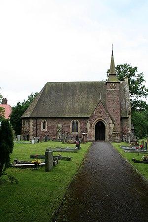 Willington Worthenbury - Image: Tallwrn Green Church geograph.org.uk 489098