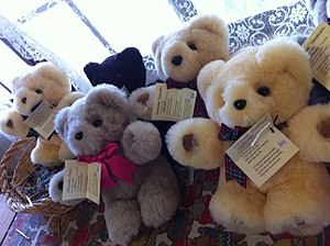 Tambo, Queensland - Sample of the Tambo Teddies manufactured in Tambo