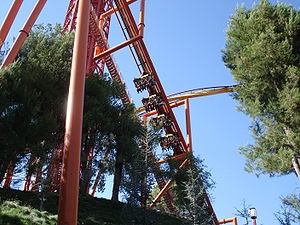Tatsu, Six Flags Magic Mountain, Valencia, Kalifornia, USA.