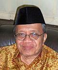 "Taufiq Ismail supported Sastra, not ""Langit Makin Mendung"""
