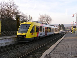 LINT 41 op 29 december 2006 in station Friedrichsdorf-Köppern