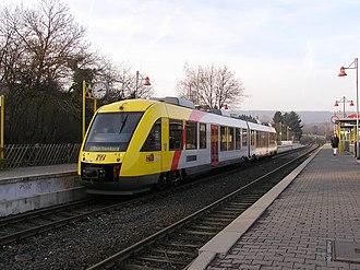 Alstom Coradia - Image: Taunusbahn Koeppern LINT