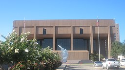 New Taylor County Courthouse i Abilene.