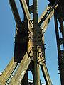 Tczew, silniční most, spoj příhradové konstrukce.JPG
