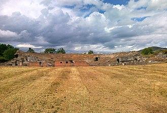 Cales - Roman Theatre of Cales