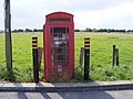 Telephone Box in Haddiscoe Station Car Park - geograph.org.uk - 1439493.jpg