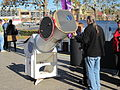 Telescope set up by the Wagga Wagga Observatory at the Civic Centre for the transit of Venus (1).jpg