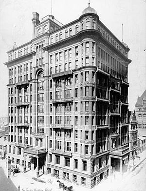 Temple Building (Toronto) - The Temple Building in 1902
