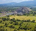 Teotihuacan landscape with Pirámide de la Luna.jpg
