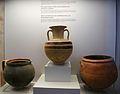 Terrissa domèstica de finals del període clàssic i hel·lenístic, museu arqueològic d'Olímpia.JPG