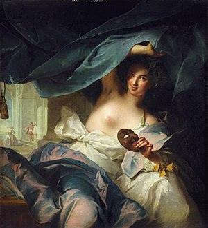Thalia (Muse) - Muse of comedy and idyllic poetry, Jean-Marc Nattier
