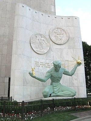 The Spirit of Detroit - Wikipedia