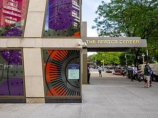 The Africa Center Museum in New York, New York