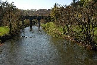 "Tarka the Otter - The Beam Aqueduct, the ""Canal Bridge"" near which Tarka was born"