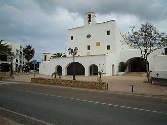 Sant Josep de sa Talaia - Image: The Center of San Jose Ibiza 19 may 2011 (1)