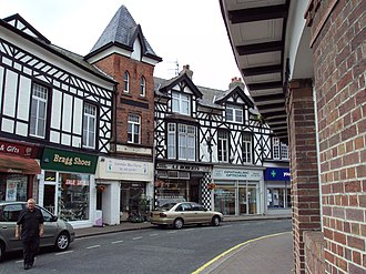 West Kirby - Image: The Crescent, West Kirby