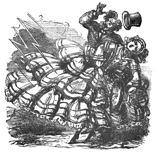 The Dangers of Crinoline, 1858 03