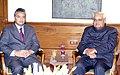 The Deputy Prime Minister of Mauritius Mr. Pravind Jugnauth calls on the Prime Minister Shri Atal Bihari Vajpayee in New Delhi on January 10, 2004.jpg