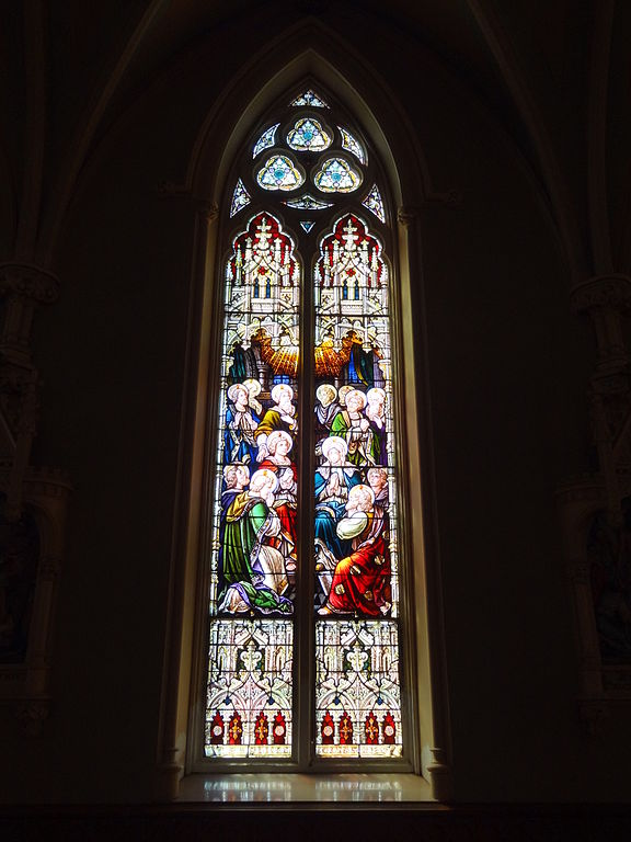 File The Descent Of The Holy Spirit Stained Glass Window