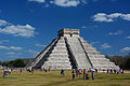 The El Castillo Pyramid at Chichen Itza, Mexico.jpg
