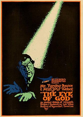 Tyrone Power Sr - Poster for The Eye of God (1916)