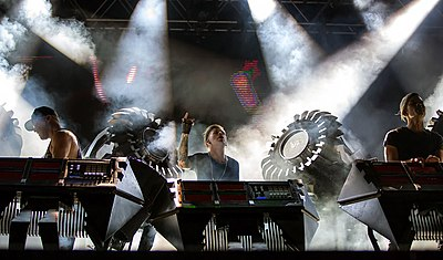 Picture of a band or musician: The Glitch Mob
