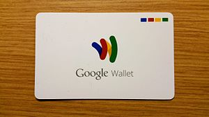 Google Wallet - The Google Wallet card before 2015